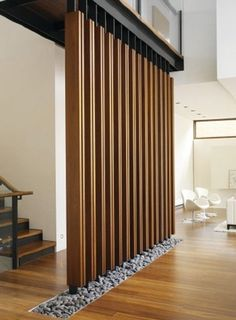 16 Awesome Room Divider and Living Room Partition Design Ideas - Local Home US - Home Improvement Home Interior Design, Interior Architecture, Interior Decorating, Decorating Ideas, Lobby Interior, Decorating Websites, Interior Walls, Kitchen Interior, Kitchen Design