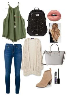 10 Stylish Spring Outfit Ideas for School | Pouted.com - #outfitideasforschool School Outfits For Teen Girls, Outfits Teenager Mädchen, Spring Outfits For School, Fall College Outfits, Winter Outfits, Outfits Spring, Preppy College Outfit, Back To School Outfits For College, Freshman Outfits
