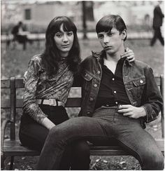 arbus couple on a bench - Google Search