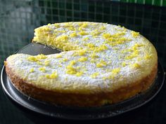 """In Sweden the most popular cake is called """"kladdkaka"""" (which means sticky cake). This recipe is also a """"kladdkaka"""" but with lemon instead of chocolate!"""