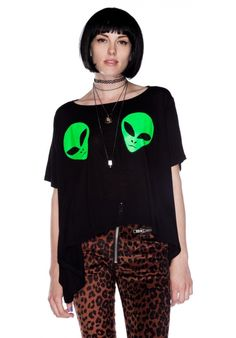 Unif Alien Boob Tee #UNIF #UNIFCLOTHING
