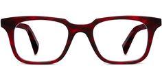 Warby Parker Eyeglasses - Clark in Scarlet Tortoise