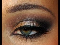 African American Smokey Eye | Found on howtodoyournails.blogspot.com