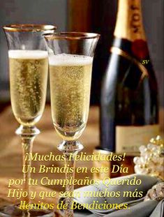 Hapy Day, Champagne, Frases, Dear Daughter, Happy Faces, Birthday Congratulations, Happy Birthday, Sons, Messages