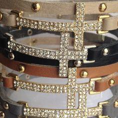 Cross  bracelet wrap