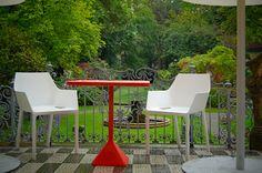 TNP + Mem by Christophe Pillet - Kristalia #outdoorfurniture #bardesign #bistrofurniture #gardendesign