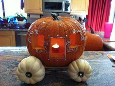 Cinderella's pumpkin stagecoach!
