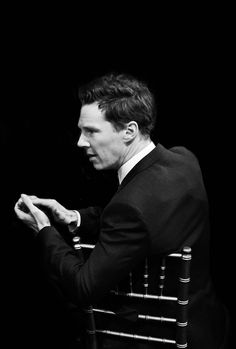 Benedict looks brilliant in every single pose! I think I find him attractive because he holds that special something that 'real' men possess which can't be manufactured and imitated but must have been theirs from birth.  My grandfather had that, and so does my nephew – It's something special and both men and women recognize it but can't name it really – ya know?