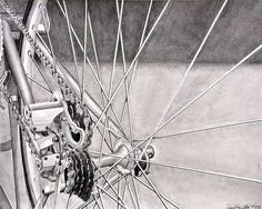 RISD Bicycle Drawing by danielgiuditta, via Flickr