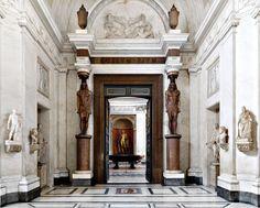 Massimo Listri, Musei Vaticani, Museo Pio Clementino, Sala a Croce Greca
