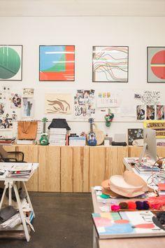 Clare V. studio