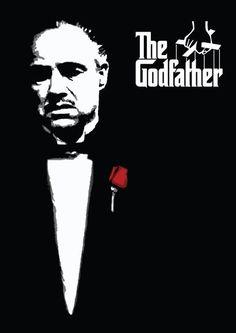 Poster 'O poderoso chefão' com moldura Descubra 25 Filmes que Mudaram a História do Cinema no E-Book Gratuito em http://mundodecinema.com/melhores-filmes-cinema/