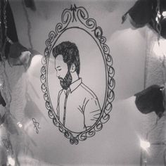 I'm still breathing, i'm alive... #sia #alive #music #drawing #desenho #barba #beard