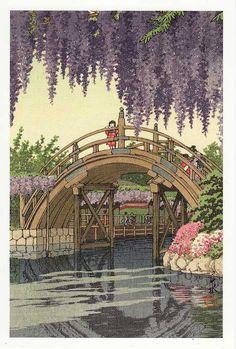 川瀬巴水 Kawase Hasui(1883-1957) Japanese Woodblock Print