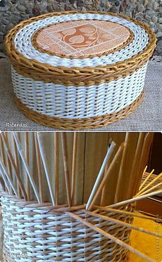 Послойное плетение (как я заканчиваю плетение) | Страна Мастеров