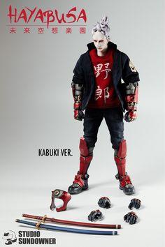 "TTF 2015 搶先曝光 & 預購!""STUDIO SUNDOWNER"" 強勢新作第二彈""隼""(HAYABUSA)!   玩具人Toy People News"
