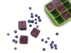 Regular ice cubes can water down a fresh smoothie. Instead, pulse fresh blueberries in the food processor until finely chopped. Then, spoon into ice cube cups and freeze at least 2 hours, or until set. Use in place of ice for an extra boost of flavor and vitamins!