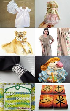 Multicolored gifts. by Natalia Gulenok on Etsy--Pinned with TreasuryPin.com