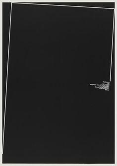 Mostra Personale: Progettare Voce del Verbo Amare, 2001 | A. G. Fronzoni