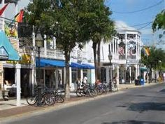"Duval Street in Key West, Florida.  I have made the 3,000 mile round trip here from New York three times on my motorcycles.  The last time I arrived in ""Paradise"" they had put up a Home Depot.  Haven't been back since."