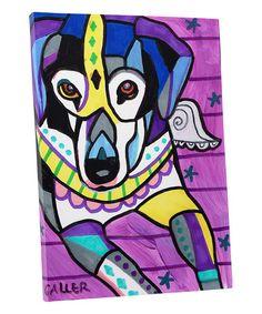 Beagle Angel art framed tile ceramic wood by HeatherGallerArt Paint Your Pet, Angel Art, Beagle, Wrapped Canvas, Framed Art, Canvas Art, Vibrant, Ceramics, Abstract