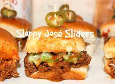 ~Sloppy Jose Sliders!  #CBCTailgating #tailgatingrecipes #homegating #tailgating