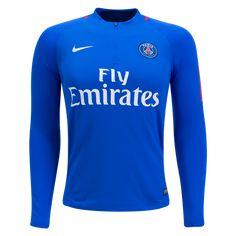 Paris Saint-Germain 2018 Long Sleeve Training Top - WorldSoccershop.com