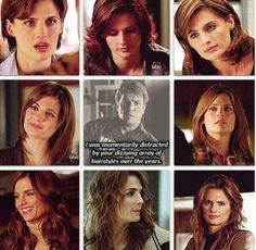 Castle. Which is funny cause that's how I know what season the episode I'll be watching is from.