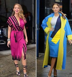 Blake Lively: 10 Outfits an einem Tag!
