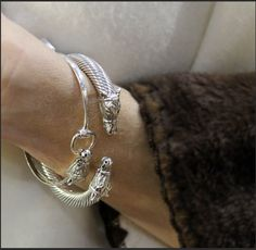 Caracol - Inspired Jewelry and Handbags - Snaffle Horse Head Bracelet | Sterling Silver | Caracol , $84.00 (http://www.caracolsilver.com/snaffle-horse-head-bracelet-sterling-silver-caracol/)