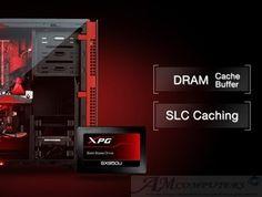 Data XPG SX950U SSD gaming con memorie flash NAND 3D per migliorare le prestazioni del sistema e fornire una maggiore affidabilità rispetto alle soluzioni NAND 2D