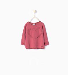 ZARA - NIÑOS - Camiseta corazón