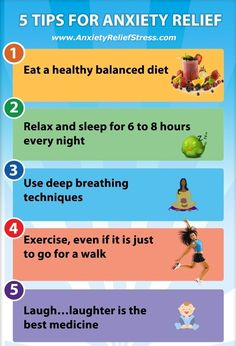 So do you incorporate all these things into your life? Do you exercise every day and sleep soundly every night? If you don't then your anxiety levels will certainly be affected.