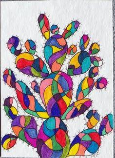 Cactus Monday - Colorful Cactus Crazy