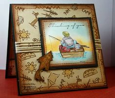 MMTPT184, Thinking of you - Tig - You Da Man by kokirose - Cards and Paper Crafts at Splitcoaststampers