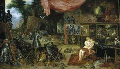 Allegories of the five senses-Touch-Jan Bruegel the Elder & Peter Paul Rubens, 1618.