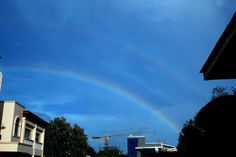 Double Rainbow, a sign of God's Love for us... the promise he made to Noah...