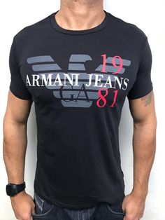 Boys T Shirts, Tee Shirts, Tees, Sporty Look, Armani Jeans, Kids Fashion, Fashion Design, Emporio Armani, Swagg