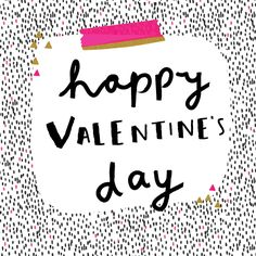 pattern, print, monochrome, hot pink, design, print, valentines, greeting card, type, lettering, typography, brush