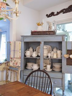 Spring pastels are a favorite in the kitchen. I love bringing out pillows and linens in floral pastels. ...