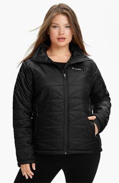 Free shipping and returns on Columbia 'Mighty Lite' Jacket (Plus Size) at Nordstrom.com. A super-lightweight jacket features innovative heat-retaining technology for exceptional warmth without the bulk. Knit cuffs have thumbholes to keep hands cozy.