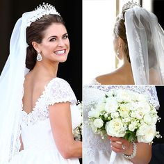 Pics: Princess Madeleine of Sweden's Valentino Wedding Dress ...