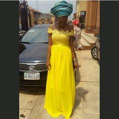 Phenomenally Fabulous! Nigerian Fashionistas Cause a Stir in Their Admirable and Mind-Blowing Aso-Ebi Styles - Wedding Digest Naija