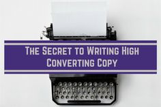 In this post you will learn why copy writing is so important, and how to write high converting copy. But, first a short story... We have been in the industry since 2011, and we have grown our list. Now, we don't have a huge list, but it's not about the amount of people on your list, it's about what you do with your list and how you treat them...