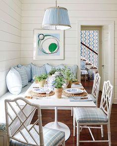 Just look at @sarahbartholomewdesign project in the new @southernlivingmag BEAUTIFUL and I LOVE her so very much! #bluelovesgreen #makeitbeautiful #southernstoday