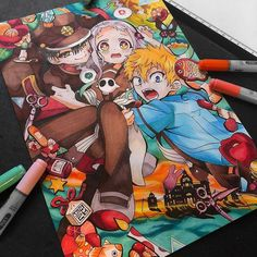 Bakugou Manga, Manga Drawing, Copic Drawings, Art Drawings Sketches, Kawaii Anime Girl, Anime Art Girl, Kpop Anime, Arte Do Kawaii, Hisoka