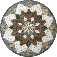 Mandala em Mosaico                                                                                                                                                                                 Mais