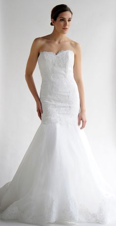 Gorgeous Lillen Collection Wedding Dresses. To see more: http://www.modwedding.com/2014/01/04/gorgeous-lillen-collection-wedding-dresses/ #wedding #weddings #fashion