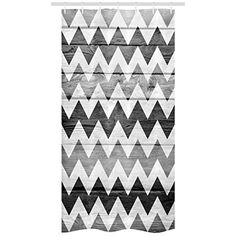 Ambesonne Chevron Stall Shower Curtain, Zig Zag Lines Pattern on Wooden Texture Background Rustic Home Print, Fabric Bathroom Decor Set with Hooks, X Pale Grey White Grey Grey And White, Grey Light, Bathroom Decor Sets, Bathroom Accessories, Stall Shower, Chevron Curtains, Shower Curtain Sets, Shower Curtains, Wooden Textures