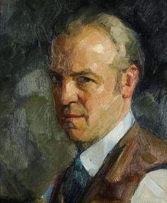Firmin Baes, Self portrait